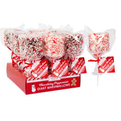 GIANT MARSHMALLOW POP - CRUSHED PPPRMNT - 1.7OZ