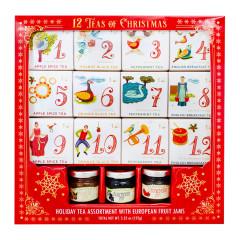 12 TEAS OF CHRISTMAS - WITH JAM - 5.35OZ