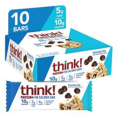 THINK! - PROTEIN BAR - CHOCOLATE CHIP - 1.41OZ