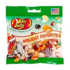 JELLY BELLY HOLIDAY FAVORITES 3.5 OZ PEG BAG