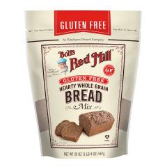BOB'S RED MILL GLUTEN-FREE HEARTY WHOLE GRAIN BREAD MIX 20 OZ