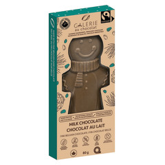 JELINA - HOLIDAY BAR - MILK CHOCOLATE HONEY NOUGT - 2.82OZ