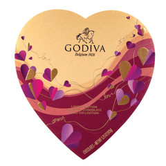 GODIVA DARK CHOCOLATE 6 OZ HEART