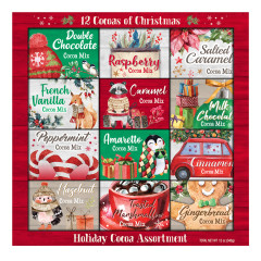 12 COCOAS OF CHRISTMAS 25.6 OZ GIFT PACK