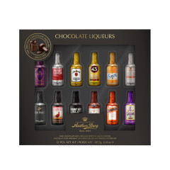 ANTHON BERG CHOCOLATE LIQUERS 12 PC 6.61 OZ GIFT BOX