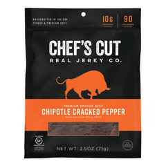 CHEF'S CUT CHIPOTLE BEEF JERKY 2.5 OZ BAG