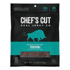 CHEF'S CUT ASIAN TERIYAKI STEAK JERKY 2.5 OZ BAG