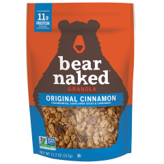 BEAR NAKED ORIGINAL CINNAMON GRANOLA 11.2 OZ POUCH