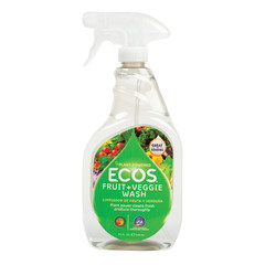 EARTH FRIENDLY - FRUIT AND VEGTABLE WASH - 22OZ