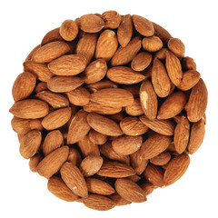 ALMONDS ROASTED SALTED 32/34 CT 6.25 LB