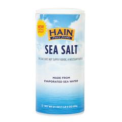 HAIN PURE FOODS - SEA SALT - IODIZED - 21OZ