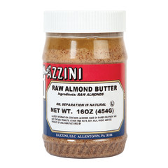BAZZINI - ALMOND - BUTTER - RAW SMOOTH - 16OZ