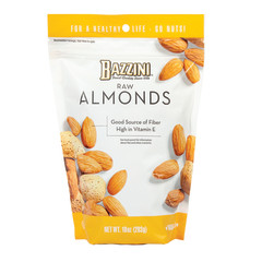 BAZZINI - RAW - ALMONDS - 10OZ