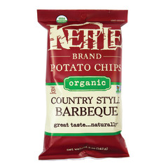 KETTLE - ORG - COUNTRY STYLE BARBECUE POTATO CHIPS - 5OZ