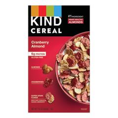 KIND CEREAL CRANBERRY ALMOND 10 OZ BOX