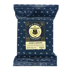 SARTORI OLD WORLD CHEDDAR CUTS 7 OZ BAG