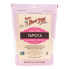 BOB'S RED MILL - TAPIOCA - SMALL PEARL - 24OZ
