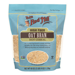 BOB'S RED MILL OAT BRAN CEREAL 40 OZ POUCH