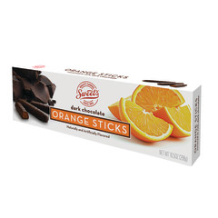 ORANGE DARK CHOCOLATE JELLY STICKS 10.5 OZ BOX