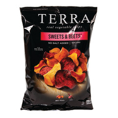 TERRA CHIPS NO SALT SWEETS & BEETS 6 OZ BAG
