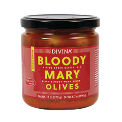 DIVINA - BLOODY MARY OLIVES - 6.7OZ