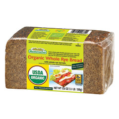 MESTEMACHER ORGANIC WHOLE RYE BREAD 17.6 OZ