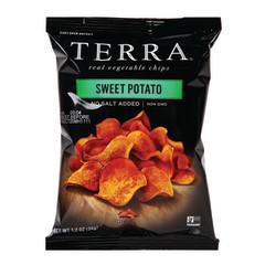 TERRA CHIPS NO SALT SWEET POTATO 1.2 OZ BAG