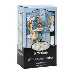 DIVINA LA MEDINA WHITE SUGAR CUBES 13 OZ BOX