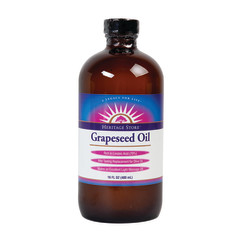 HERITAGE STORE GRAPESEED OIL 16 OZ BOTTLE