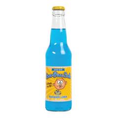 AVERYS SOUR PUSS BLUEBERRY LEMON SODA 12 OZ BOTTLE