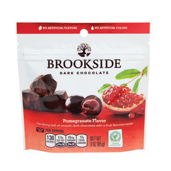 BROOKSIDE DARK CHOCOLATE POMEGRANATE 3 OZ POUCH