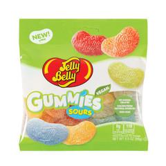 JELLY BELLY GUMMIES SOURS 3.5 OZ PEG BAG