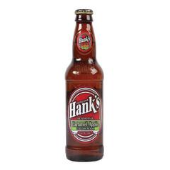 HANK'S CREAM CARAMEL APPLE SODA 12 OZ BOTTLE
