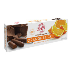 MILK CHOCOLATE ORANGE JELLY STICKS 10.5 OZ BOX
