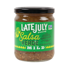 LATE JULY - ORGANIC - SALSA VERDE - MILD - 15.5OZ