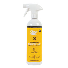 CLEANWELL BOTANICAL LEMON ALL PURPOSE CLEANER 24 OZ SPRAY