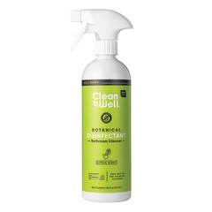 CLEANWELL BOTANICAL CITRUS BATHROOM CLEANER  24 OZ SPRAY