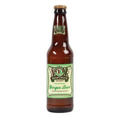 BEDFORD'S GINGER BEER SODA 12 OZ BOTTLE