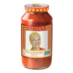 LIDIA'S TOMATO BASIL PASTA SAUCE 25 OZ JAR