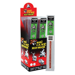 BUFFALO BOB ALLIGATOR HOT & SPICY BEEF JERKY 1 OZ STICK