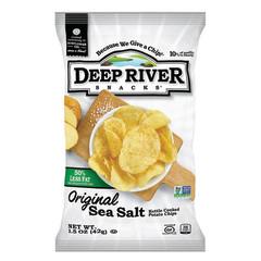 DEEP RIVER 50% REDUCED FAT SEA SALT 1.5 OZ BAG