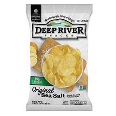 DEEP RIVER 50% REDUCED FAT SEA SALT 5 OZ BAG