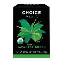CHOICE ORGANICS TEA JAPANESE GREEN 16 CT BOX