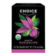 CHOICE ORGANICS TEA BLACK TEA DARJEELING 16 CT BOX
