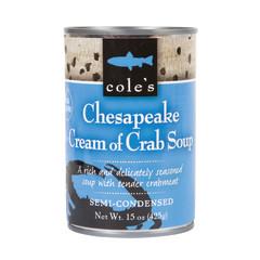 COLE'S - SOUP - CREAM OF CRAB 15OZ