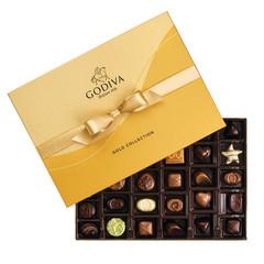 GODIVA BALLOTIN GOLD 36 PIECE 13.75 OZ BOX