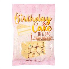 AMUSEMINTS BIRTHDAY CAKE DOUGH BITES 5 OZ PEG BAG