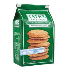 TATE'S COCONUT CRISP COOKIES 7 OZ BAG