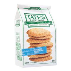 TATE'S GLUTEN FREE COCONUT CRISP COOKIES 7 OZ