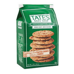 TATE'S BUTTER CRUNCH COOKIES 7 OZ BAG